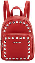 Love Moschino Faux-Napa Quilted Studded Backpack