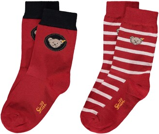 Steiff Girl's Socken 2er Pack Calf Socks