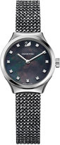 Swarovski Women's Dreamy Black Crystal Mesh Watch