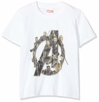Marvel Girl's Infinity War Avengers Logo T-Shirt