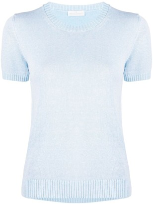 Bruno Manetti Short Sleeve Knitted Top