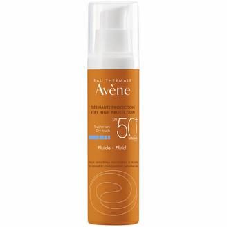 Avene Very High Protection Fluid SPF50+ Sun Cream for Sensitive Skin 50ml