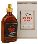 Olivina Men Bourbon Cedar Natural Fragrance Cologne - 2.7 oz