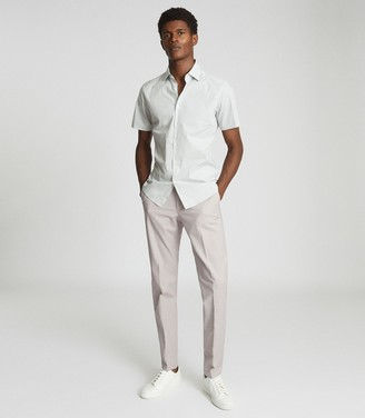 Reiss EASTBURY REG REGULAR FIT CHINOS Stone
