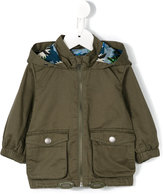 Stella McCartney army hooded jacket - kids - Cotton - 6 mth