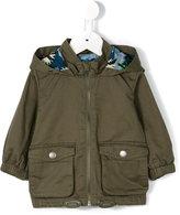 Stella McCartney army hooded jacket