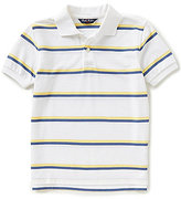 Brooks Brothers Little/Big Boys 4-20 Striped Pique Short-Sleeve Polo Shirt