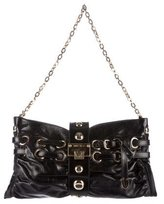 Jimmy Choo Studded Leather Shoulder Bag