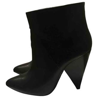 IRO Fall Winter 2018 Black Leather Ankle boots
