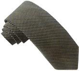 Haggar Wool Blend Mini Houndstooth Tie