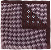 Ermenegildo Zegna printed pocket square