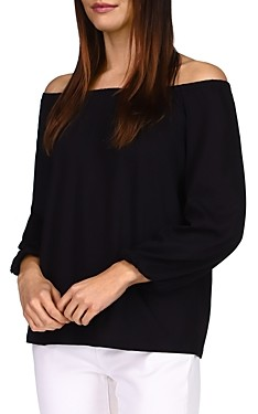 MICHAEL Michael Kors Solid Off Shoulder Top