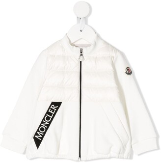 Moncler Enfant Padded Logo Tape Jacket