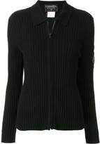 Chanel Pre Owned 1996 zip-up polo shirt