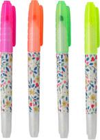 Cath Kidston Littlemore Flowers Set of 4 Erasable Highlighters