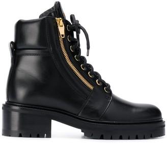 Balmain Army ankle ranger boots
