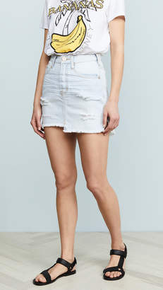 One Teaspoon Brando Denim Miniskirt