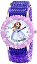 Disney Kids' W001937 Sofia Analog Display Analog Quartz Purple Watch