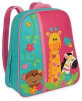 Stephen Joseph Zoo Go Go Backpack in Pink/Blue