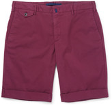 Incotex - Slim-fit Stretch-cotton Twill Shorts