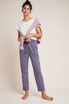 Anthropologie Cameron Sleep Pants By in Blue Size S