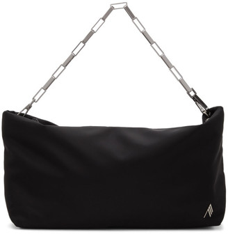ATTICO Black Medium Wynona Clutch Bag