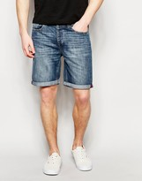 United Colors Of Benetton Mid Wash Denim Shorts