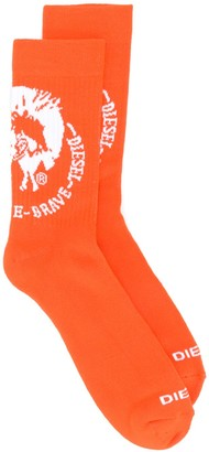 Diesel Terry Mohawk logo socks