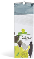 Marks and Spencer Contemporary Abstract 2018 Slim Calendar