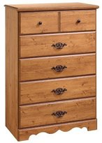 South Shore Furniture Prairie Collection, Chest, Country Pine
