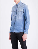 The Kooples Slim-fit denim shirt