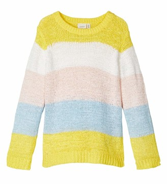 NAME IT Baby-M/ädchen Nmfluvifa Ls Knit Box Pullover