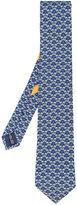 Salvatore Ferragamo palm tree print tie - men - Silk - One Size
