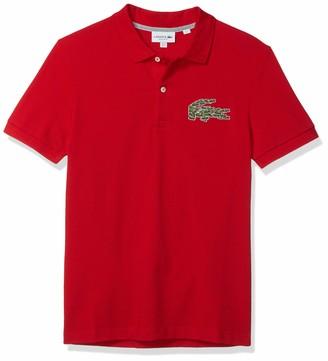 Lacoste Mens Short Sleeve Havy Pique Winter Polo Shirt Polo Shirt