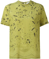 Valentino Swallow Metamorphosis top - women - Silk - XS
