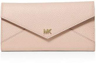 MICHAEL Michael Kors Money Pieces Large Trifold Leather Wallet