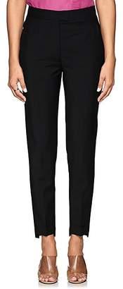 Acne Studios Women's High-Rise Cigarette Crop Pants - Black