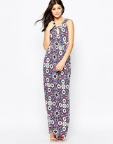 French Connection Electric Mosaic Jersey Maxi