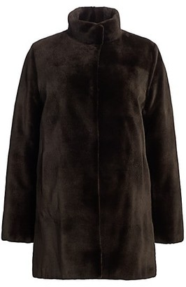 The Fur Salon Zac Posen For Reversible Sheared Mink Coat