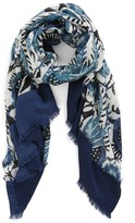 Tory Burch 'Bird of Paradise' Wool Scarf