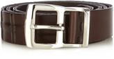 Brunello Cucinelli Threaded-under leather belt