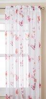 Lorraine Home Fashions 06042-84-00006 Butterflies Tailored Window Curtain Panel