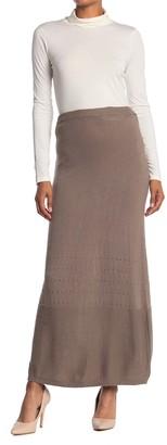 Vertigo Open Knit Maxi Skirt
