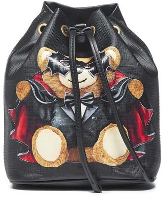 Moschino Mini Satchel Bat Teddy Tote