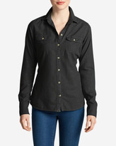 Eddie Bauer Women's Stine's Favorite Flannel Shirt - Solid