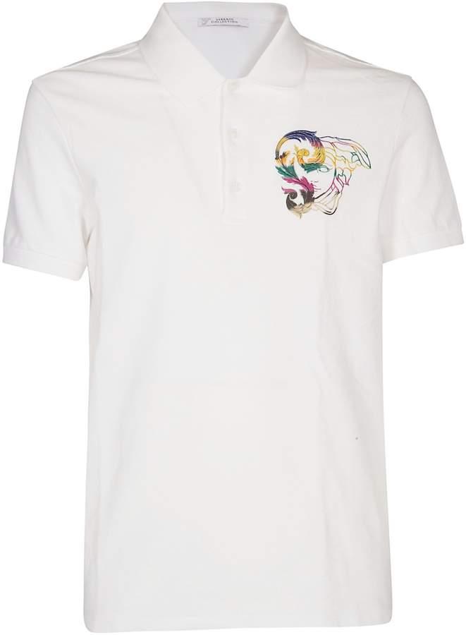 339eb7e9 Versace White Polo Shirts For Men - ShopStyle Canada