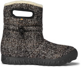 Bogs Women's Cold Weather Boots BLK - Black B-Moc Mid Woven Boot - Women