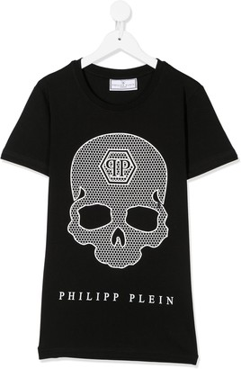 Philipp Plein skull-print crew-neck T-shirt