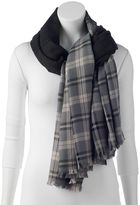 Woolrich Plaid Blanket Wrap
