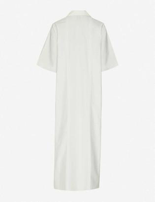 Taiga Takahashi Eustacia pin-tucked cotton midi dress